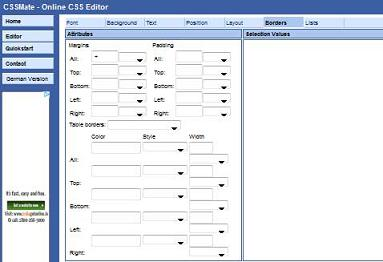 "Preview Of "" CSSMate "" Application"