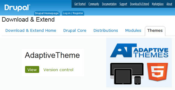 Adaptive Drupal Theme