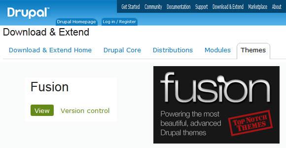 Fusion Drupal Theme