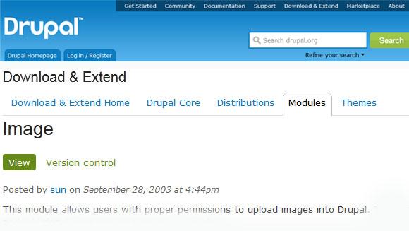 Image - Drupal Module