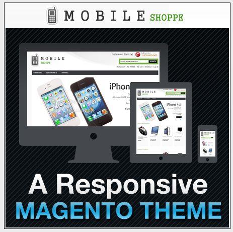 Mobile Shoppe - free magento responsive theme