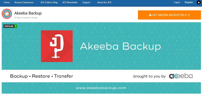 Akeeba Dackup